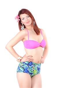 Dikme Hazır Kaplı, Retro Şort  Bikini Takım