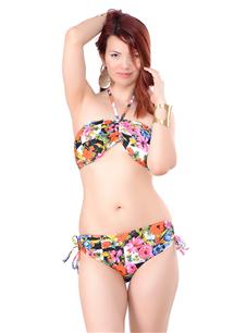Hazır Atma Kaplı Bikini Takım