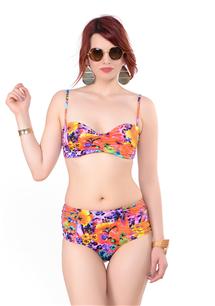 Straplez, Hazır Dikme Kaplı Bikini Takım